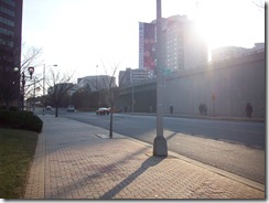 Crystal City, relatively deserted