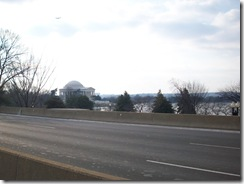 The Jefferson Memorial from the 14th Street Bridge